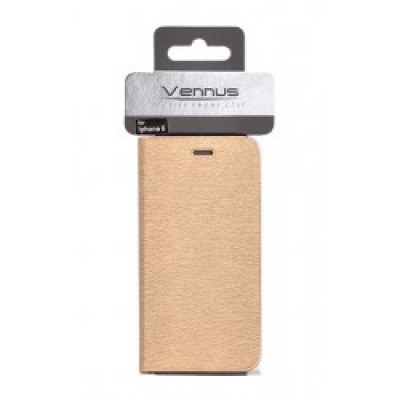Samsung Galaxy S8 / G950F Vennus Book Soft Case Gold