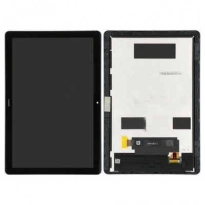 Huawei Mediapad T5 / AGS2-L09A Frontcover + Lcd + Touch Black Original (Service Pack)