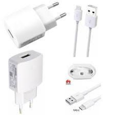 Huawei Charger Adaptor 2.0A HW-050200E3W + Type C Cable White Bulk