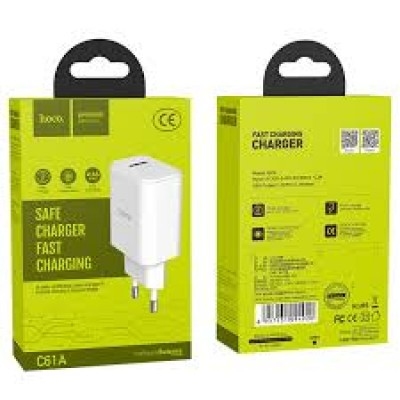 Hoco Charger Adaptor C61A 2.1A White Blister