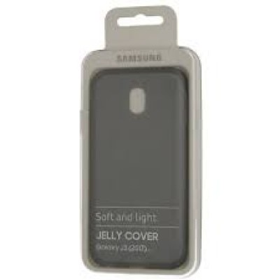 Samsung Galaxy J3 2017 / J330F EF-AJ330TBE Original Protective Silicone Case Black