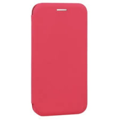 Huawei Y7 2019 / Y7 Prime 2019 Vennus Book Soft Case Raspberry