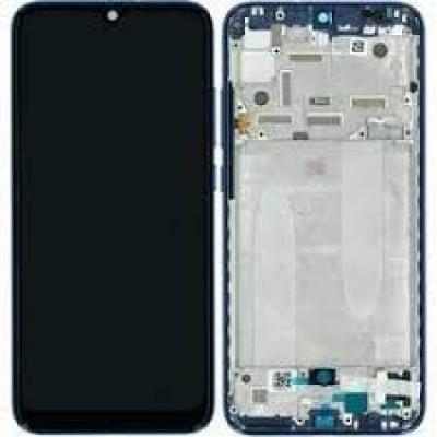 Xiaomi MI A3 Frontcover + Lcd + Touch Blue Original (Service Pack)