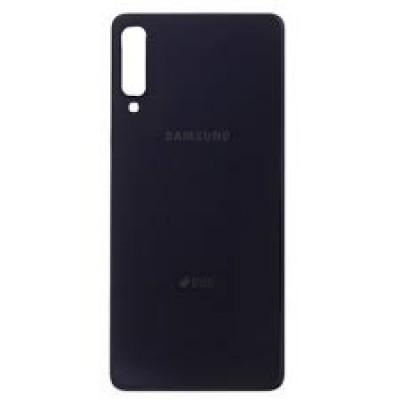 Samsung Galaxy A7 2018 / A750F Battery Cover Black HQ