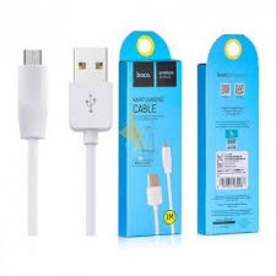 Hoco Usb Cable Rapid Charging Micro Usb 1M White