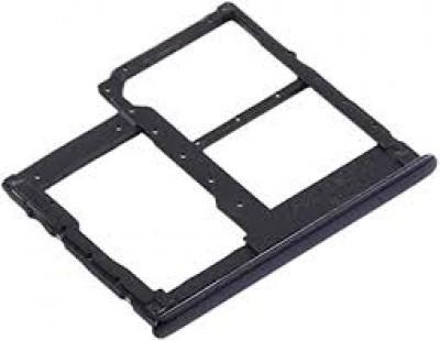 Samsung Galaxy A41 / A415F Dual Sim + Memory Card Tray Black Original