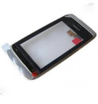 Nokia Asha 308 / 309 Front Cover + Touch White Original ( Service Pack )