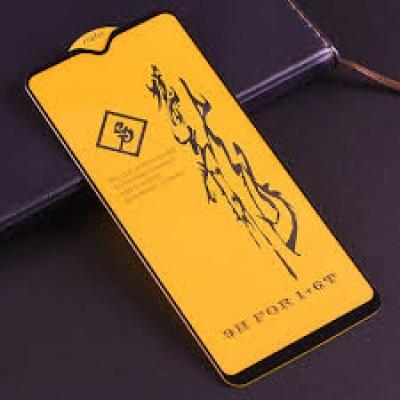 Xiaomi Redmi Note 8T Full Face Full Glue Tempered Glass Black