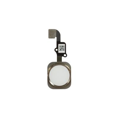 iPhone 6 / 6 Plus Home Button Flex + Fingerprint Sensor White / Silver SWAP (as New) Original