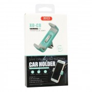 XO Car Holder with Air Vent Clip Grey / Blue
