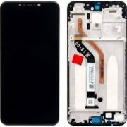 Xiaomi Pocophone F1 Frontcover + Lcd + Touch Black Grade A