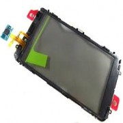 Nokia E7-00 Front Cover + Touch Black Original