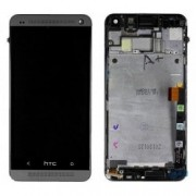 HTC One M7 Frontcover + Lcd + Touch Black Original