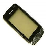 Nokia Asha 311 Front Cover + Touch Black HQ