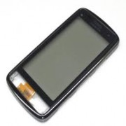 Nokia C6-01 Front Cover + Touch Black Original