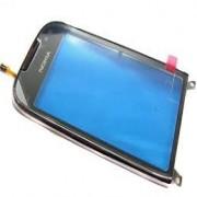 Nokia C7-00 Front Cover + Touch Aubergine Original