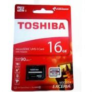 Toshiba microSDHC Card 16GB + Adapter Class 10