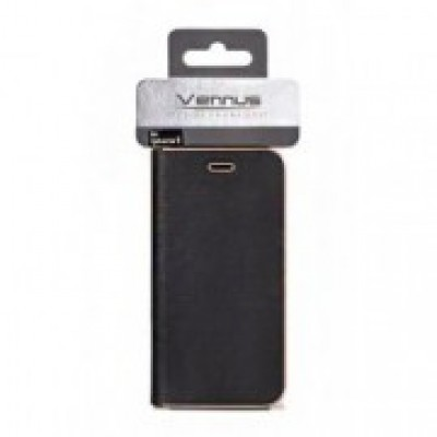iPhone XR Vennus Book Case Black