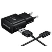 Samsung EP-TA20EBE Fast Charger Adaptor 2.0A With Micro Usb Cable Black Bulk