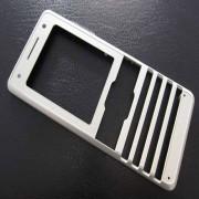 Sony Ericsson K770i Front Cover Silver Beige Original