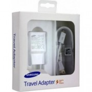 Samsung EP-TA20EWE Fast Charger Adaptor 2.0A + Micro Usb Cable White Blister