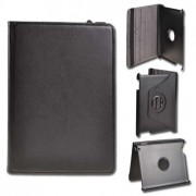 iPad 2 / iPad 3 / iPad 4 Book Rotated Case Black