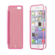 iPhone 5 / 5S Mega View Book Case Pink
