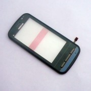 Nokia C6-00 Front Cover + Touch Black HQ