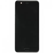 Huawei P10 Frontcover + Lcd + Touch Black Grade A