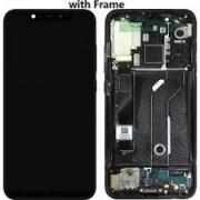 Xiaomi Mi 8 Frontcover + Lcd + Touch Black Original (Service Pack)