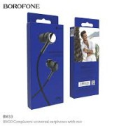 BOROFONE Handsfree BM33 Complacent Black Blister
