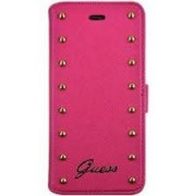 iPhone 6 Plus / 6S Plus GUESS Book Leather Case Rose