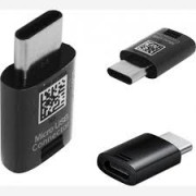 Samsung EE-GN930 Micro Usb to Type C Adaptor Black Bulk