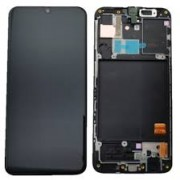 Samsung A405F / Galaxy A40 Frontcover + Lcd + Touch Black Original