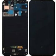 Samsung A505F / Galaxy A50 Frontcover + Lcd + Touch Black Original