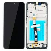 Samsung A226B / Galaxy A22 5G Frontcover + Lcd + Touch Black Original (Service Pack)