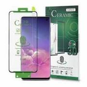 Samsung Galaxy A12 / A125F Ceramic Full Face Full Glue Tempered Glass Black