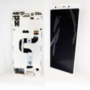 Xiaomi MI A2 / 6X Frontcover + Lcd + Touch White Original (Service Pack)