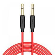 HOCO Audio Cable Adaptor 3.5mm to 3.5mm Red