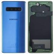 Samsung Galaxy S10 / G973F Battery Cover Blue Original (Service Pack)