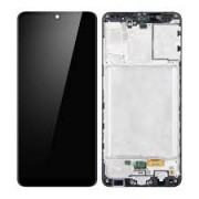 Samsung A315F / Galaxy A31 Frontcover + Lcd + Touch Black Original (Service Pack)