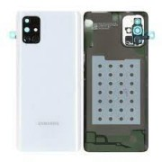 Samsung Galaxy A71 / A715F Battery Cover Silver / White Original (Service Pack)