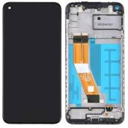 Samsung A115F / Galaxy A11 Frontcover + Lcd + Touch Black Original