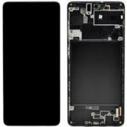 Samsung A715F / Galaxy A71 Frontcover + Lcd + Touch Black Original