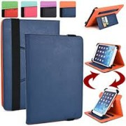 """Universal Book Case for Tablet 8"""" Navy"""