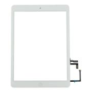 iPad Air Touch + Home + IC + Adhesive Tape White HQ