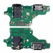 Huawei P20 Lite Dock Usb Connector + Audio Connector + Microphone Flex Original ( Service Pack )