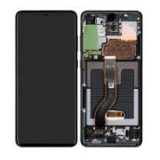 Samsung G986F / Galaxy S20 Plus Frontcover + Lcd + Touch Cosmic Black Original (Service Pack)