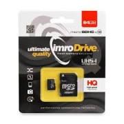 IMRO micro SDHC Card + Adaptor 64GB Class 10