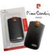 "Pull Out Case Pierre Cardin Size ""S"" (110x54 mm) Black"
